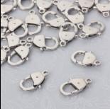 Zdjęcie - Karabińczyk kwadratowy ze stali chirurgicznej 15mm