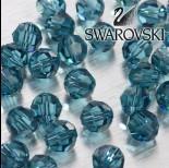 Zdjęcie - Swarovski kulka 8mm indicolite