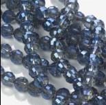 Zdjęcie - Kryształki kulka 96 cutts blue shade 8mm