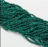 Zdjęcie - Malachit naturalny kulka fasetowana zielona 3mm