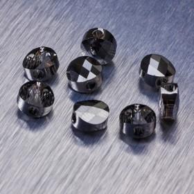 Zdjęcie - 5052 Swarovski mini round bead 6mm Silver Night