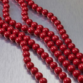 Zdjęcie - 5810 perły Swarovski 4mm Red Coral
