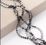 Zdjęcie - Hematyt krzyż równoramienny grafit błyszczący 6mm