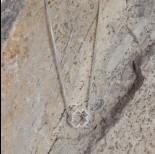 Zdjęcie - Srebrny koralik rodowany koniczynka 7,5mm, Ag925