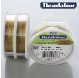 Zdjęcie - Beadalon linka powlekana 0.38mm gold color