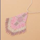 Zdjęcie - Naszyjnik boho z koralików Matsuno 10cm