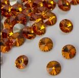 Zdjęcie - Swarovski rivoli stone tangerine 8mm