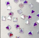 Zdjęcie - 5061 Square spike bead crystal AB 7.5mm