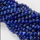 Zdjęcie - Lapis lazuli kulka gładka 8mm niebieski