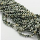 Zdjęcie - Agat mszysty bryłka diamentowa zielona 6mm