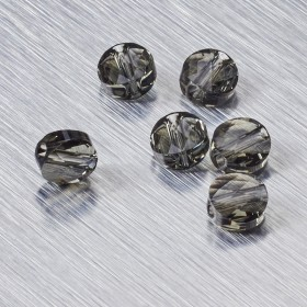 Zdjęcie - 5052 Swarovski mini round bead 6mm Black Diamond