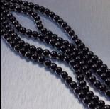 Zdjęcie - 5810 perły Swarovski 6mm Mystic Black