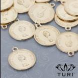 Zdjęcie - Zawieszka moneta Królowa Elżbieta II 19.5mm