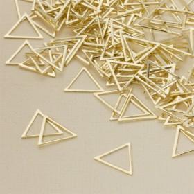 Zdjęcie - Baza metalowa trójkąt 15x17mm