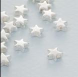 Zdjęcie - Srebrny koralik gwiazdka ag925 6mm
