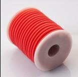 Zdjęcie - Tuba kauczukowa w oplocie 5mm czerwona