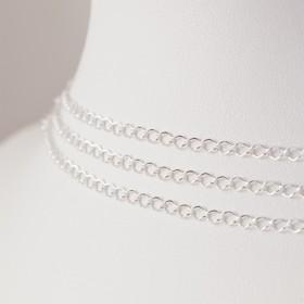 Zdjęcie - Srebrny łańcuszek romb, próba Ag925 2.5mm