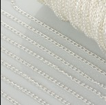Zdjęcie - Łańcuszek simple w kolorze srebrnym 2mm