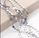Zdjęcie - Hematyt krzyż błyszczący srebrny 10x8mm