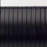 Zdjęcie - Rzemień naturalny płaski lakierowany 5x2mm czarny