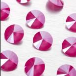 Zdjęcie - 1122 rivoli stone peony pink 14mm
