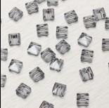 Zdjęcie - 5061 Square spike bead silver night 7.5mm