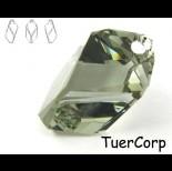 Zdjęcie - 6650 cubist pendant, SWAROVSKI, black diamond 22mm