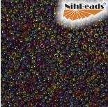 Zdjęcie - Koraliki NihBeads 12/0 Inside-Color Rainbow Hiancynth/ Iris Line
