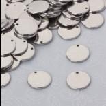 Zdjęcie - Okrągła celebrytka ze stali chirurgicznej 12mm