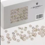 Rhinnes rivoli rose opal 6mm