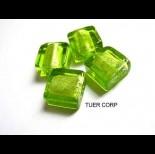 Zdjęcie - Szkło weneckie kwadrat soczysta zieleń 12mm