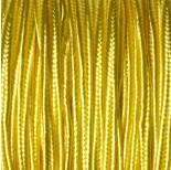 Zdjęcie - Sznurek do sutaszu żółty 3mm