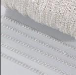 Zdjęcie - Łańcuch simple w srebrnym kolorze 4mm
