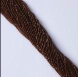 Zdjęcie - Granat brązowy syntetyczny kulka fasetowana  2.2mm