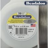 Zdjęcie - Beadalon linka powlekana 0.38mm grey color