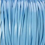 Zdjęcie - Rzemień płaski błękitny 2.5x1mm
