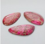 Zdjęcie - Kaboszon jaspis cesarski nieregularny różowy 25-50mm