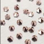 Zdjęcie - 5060 Hexagon Spike bead rose gold 7.5mm