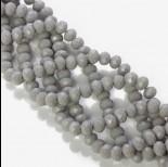 Kryształki oponki grey 6x8mm