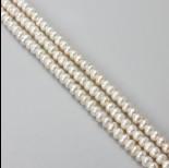 Zdjęcie - Perły naturalne button 4-6mm białe