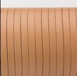 Zdjęcie - Rzemień naturalny płaski lakierowany 5x2mm beżowy
