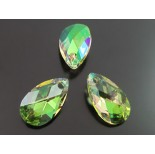Zdjęcie - Swarovski pear-shaped 16mm luminous green