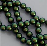 Zdjęcie - Swarovski pearl scarabaeus green 10mm