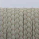 Zdjęcie - Rzemień płaski klejony beżowa łuska 11x1.5mm
