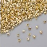 Zdjęcie - Zaciski w złotym kolorze 1.2mm