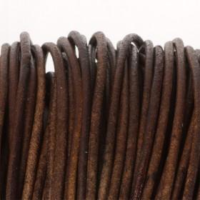 Zdjęcie - Rzemień naturalny lakierowany czekoladowy 3mm