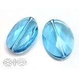 Zdjęcie - Swarovski oval bead 22mm aquamarine