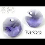 Zdjęcie - 6401 octagon pendant, SWAROVSKI tanzanite
