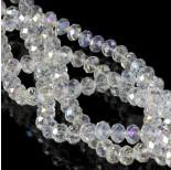 Zdjęcie - Oponka briolette crystal AB 6x8mm