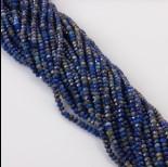 Zdjęcie - Lapis lazuli oponka fasetowana 3x4mm